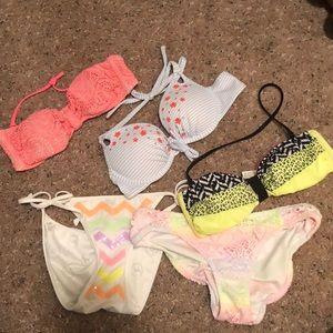 Pink Victoria's Secret swimwear
